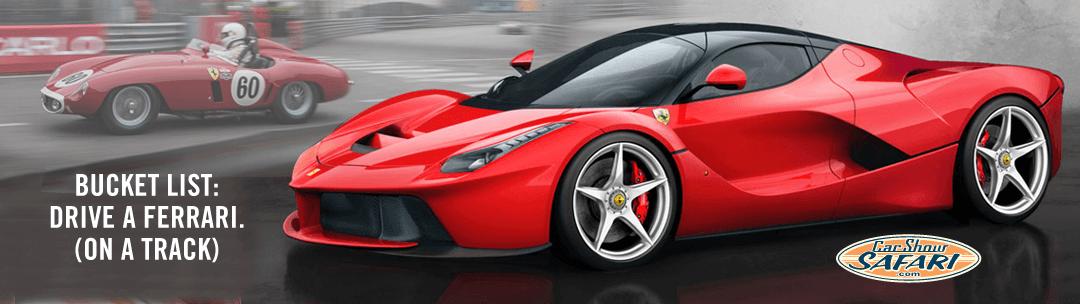 CarShowSafari.com car show listings loves Ferrari