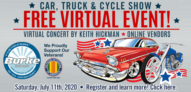 Burke Motors Virtual Car Show event