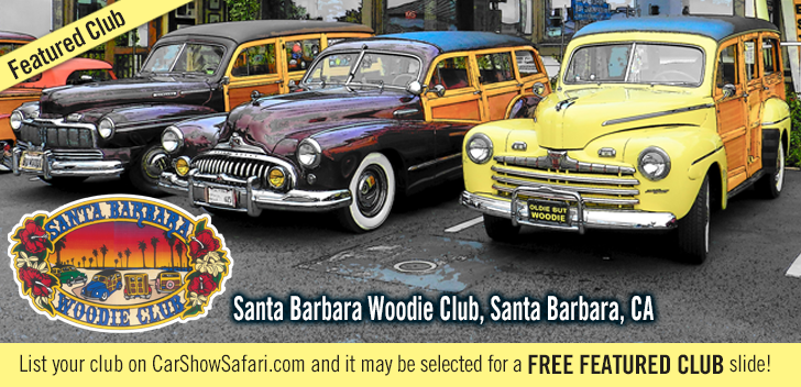 The Santa Barbara Woodie Club is a club for Woodie enthusiasts