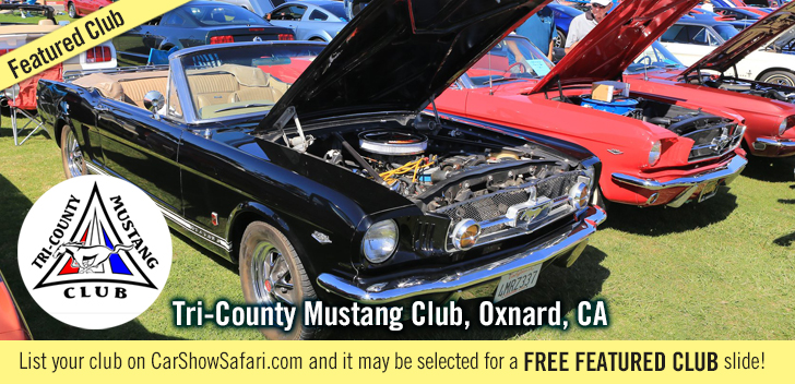 Clubs TCMustangClub . Car Shows and events
