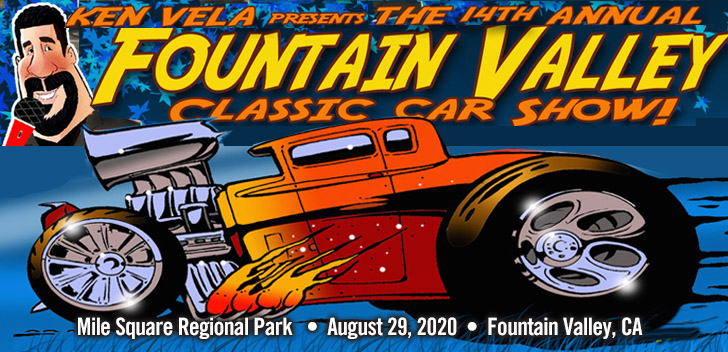 Fountain Valley Car Show August 29, 2020