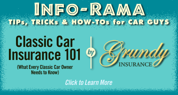 INFO-RAMA Grundy classic car insurance. Classic car insurance 101. What every classic car owner needs to know