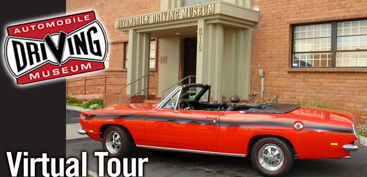 Take a Virtual Tour of the Automobile Driving Museum!