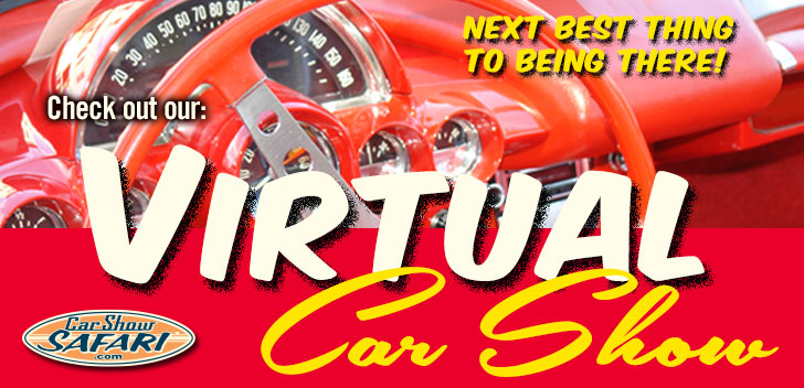 CarShowSafari.com provides Virtual Car Shows and Motorsport Events for car enthusiasts. It's the next best thing to being there