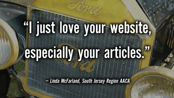 Linda McFarland loves CarShowSafari.com. Car Shows and motorsport events.