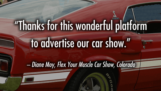 Diane Moy loves CarShowSafari.com. Car Shows and motorsport events.