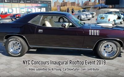 NYC Concours Inaugural Rooftop Event 2019 – Submitted by Al Young