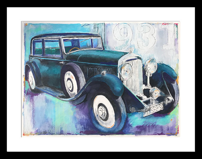 1931-Bently-Framed