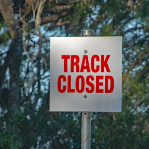 Track Closed - Racing Postponed