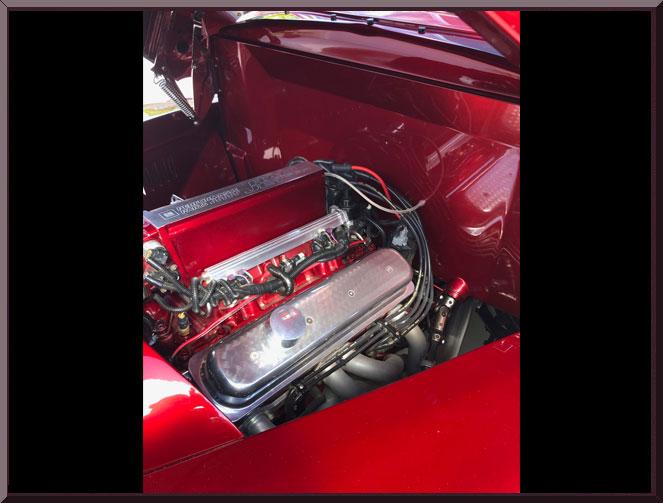 1948FordWoodieRedTanDO-engine